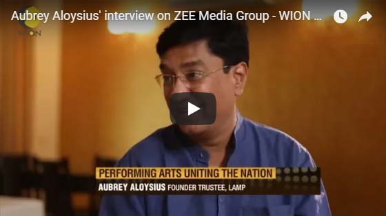 Aubrey aloysius interview on zee media group wion
